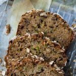 Zucchini Bread with Oats