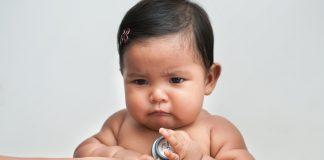Can Babies be Fat? Are you worried about an overweight baby? Studies show 85% BMI weight or higher in babies can predict obesity as early as 6 months old.