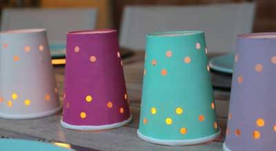 Reuse your utensils and paperware by turning them into crafts for kids! These fun and easy crafts will have your kids entertained.