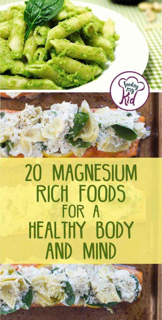 Magnesium is one of the essential minerals that the body needs. You can make magnesium rich foods right at home with these yummy recipes.