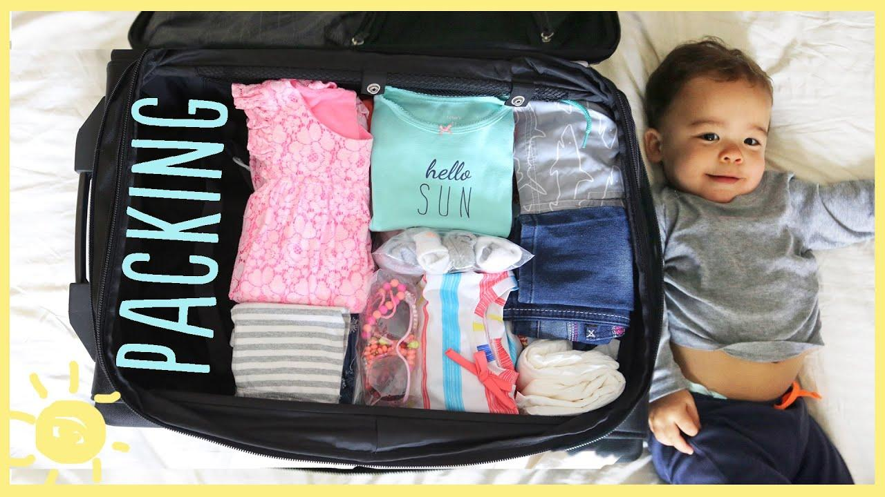 Check out this video on travel packing tips for kids. Learn how to pack for a family trip efficiently and quickly! These tips are perfect for busy moms.