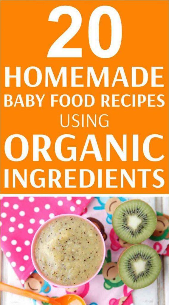 Organic baby food recipes you can make at home easy and healthy organic baby food recipes forumfinder Image collections