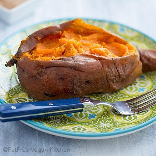 Perfect Baked Sweet Potatoes In The Pressure Cooker