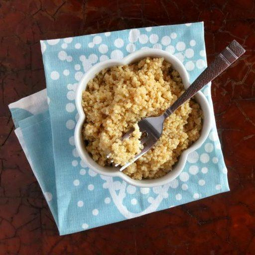 Pressure Cooker Quinoa