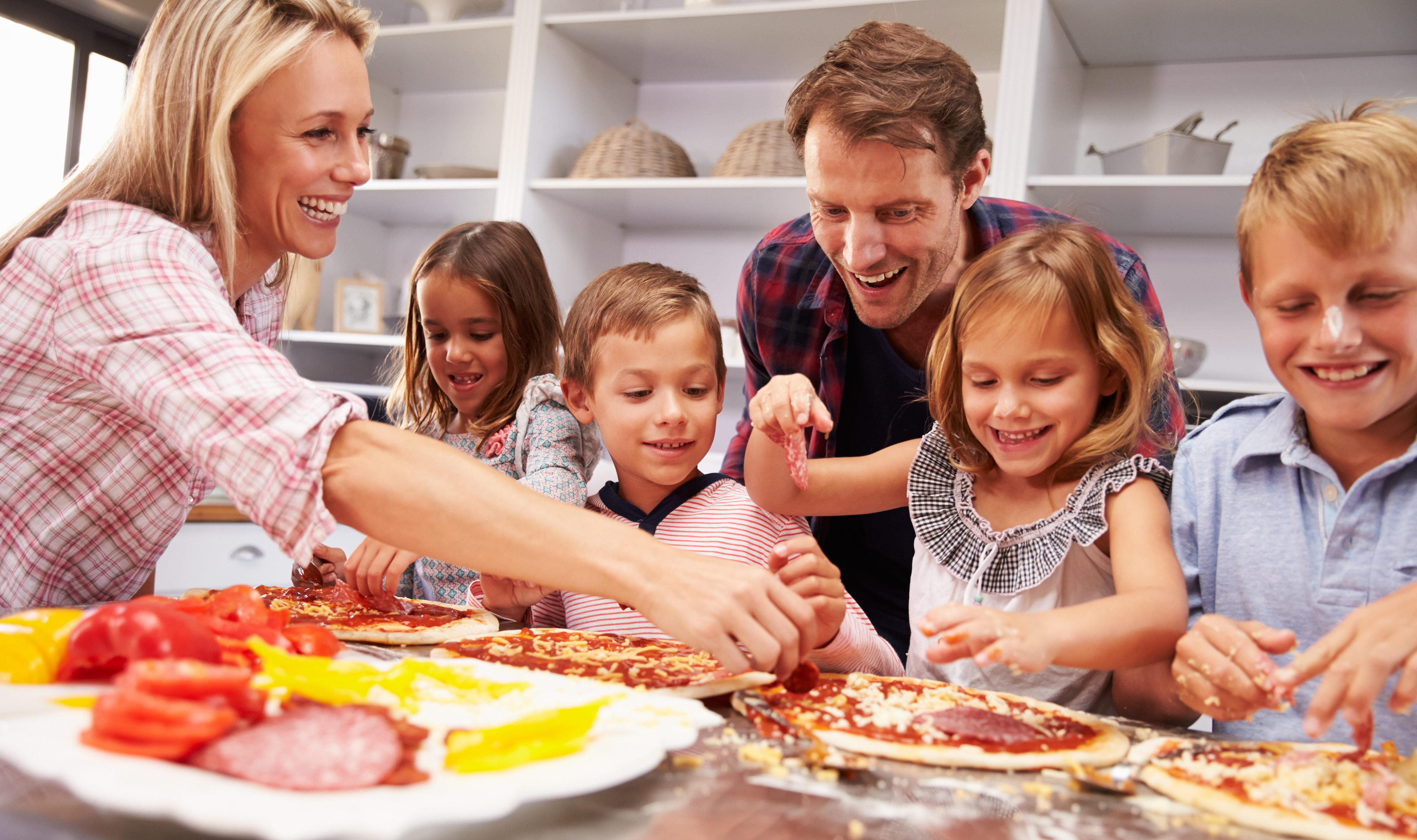 Recipes For Kids Get Kids To Try New Foods With Pizza