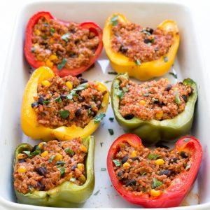 super-easy-mexican-quinoa-and-turkey-stuffed-peppers