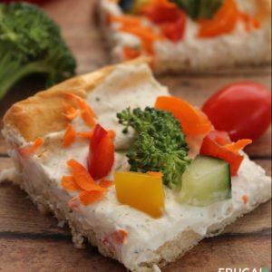 Veggie Pizza With Crescent Rolls