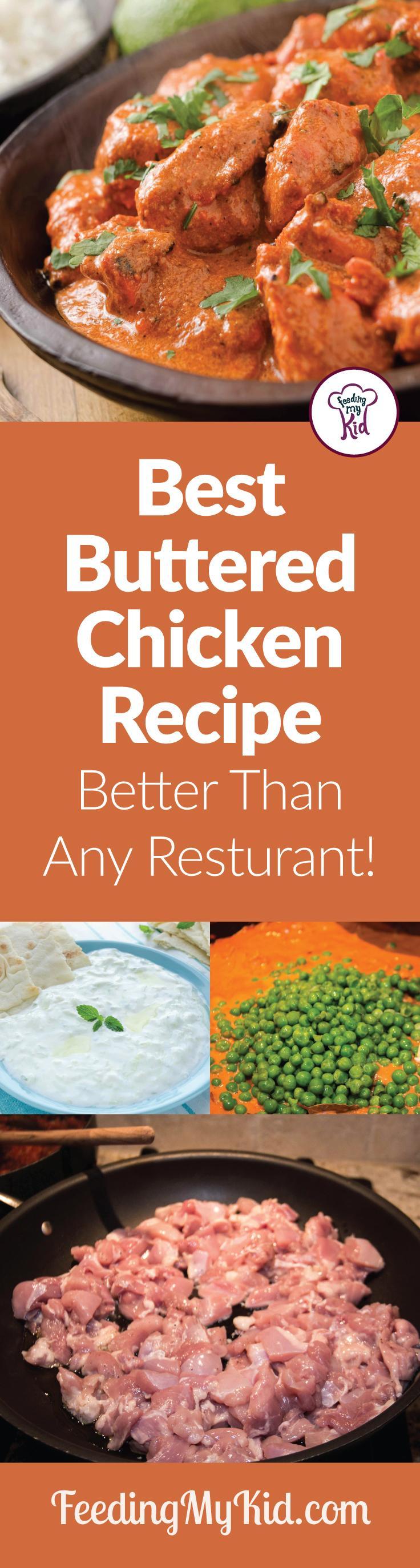 Best Buttered Chicken Recipe