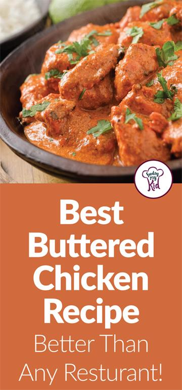 This butter chicken recipe is perfect for a large family or to make ahead of time & freeze for another night. Loaded with flavor!
