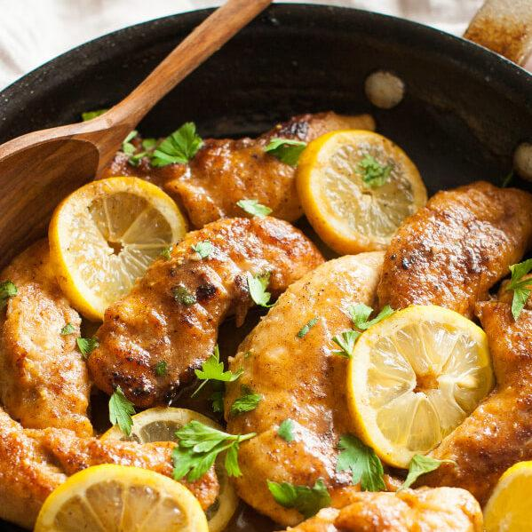 Clean Eating Easy Lemon Chicken