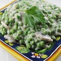 Creamy Mushroom Peas