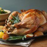 Easy Roasted Turkey w/ Sage Butter