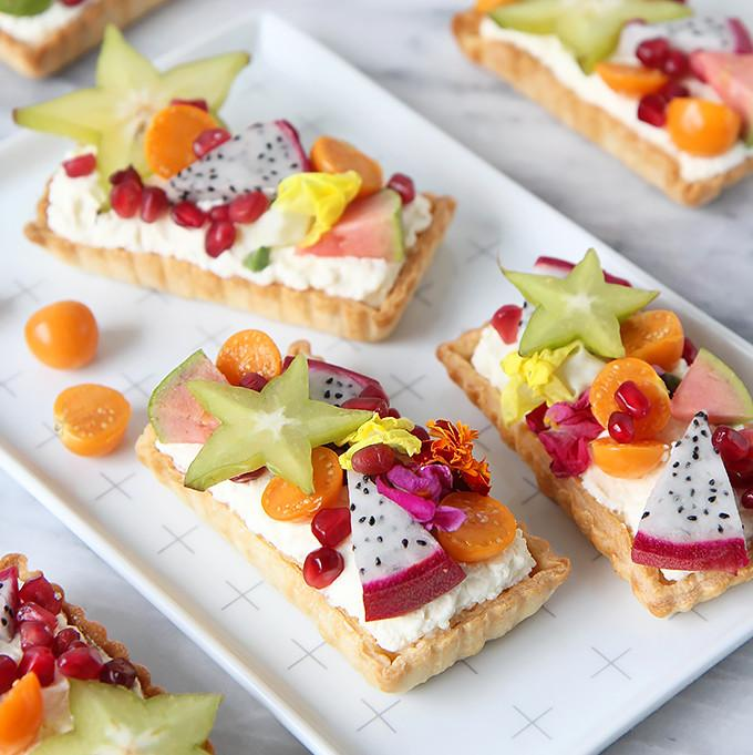 Exotic Fruit Tartlet