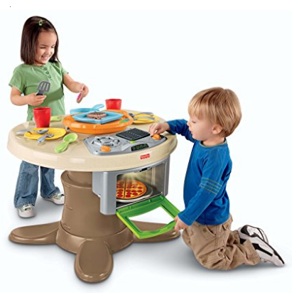 Fisher-Price Servin' Surprises Kitchen and Table