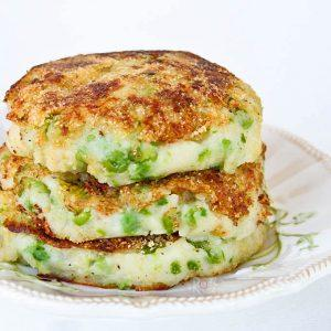 Green Potatos Mashed Potato Pancakes
