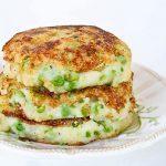 green-peas-mashed-potato-pancakes