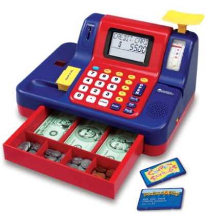 Learning Resources Pretend and Play Teaching Cash Register