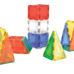 MagWorld Toys Magnetic Construction Rainbow Colors