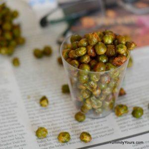 Roast Green Peas