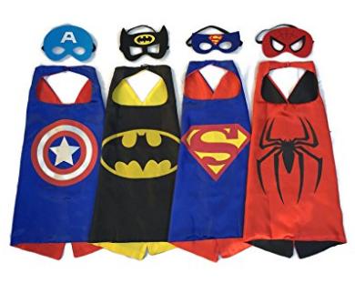 Superhero Dress Up Costumes