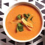 Tomato, Lentil and Coconut Soup