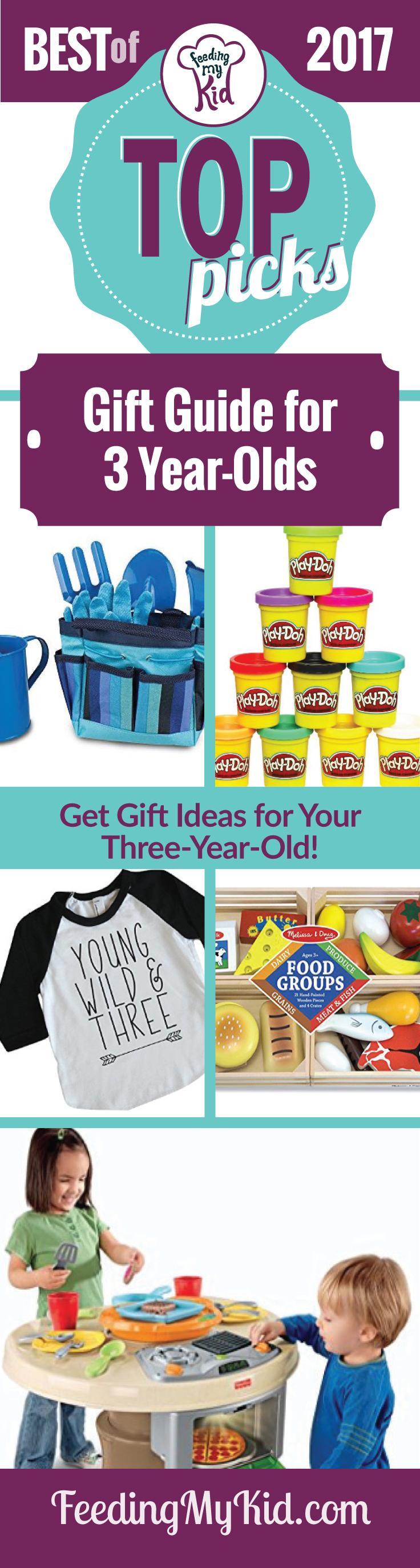 We put together this list of gifts for 3 year olds for parents to get inspired! Your kid will love to play with these toys.