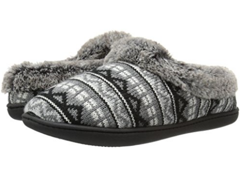 Dearfoams Women's Sweater Knit Flat