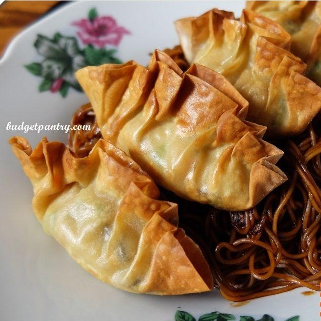 Airfried Crispy Dumplings