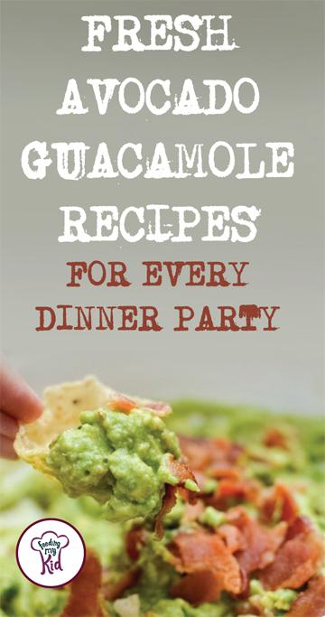 Are you looking for a new guacamole recipe or variation to fit your party theme? There's a guacamole recipe in this list for everyone and every occasion.