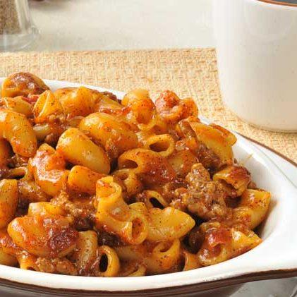 Beef and Macaroni Chili