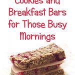Healthy breakfast cookie