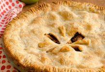 Brown Sugar Bourbon Apple Pie