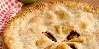 Brown Sugar Bourbon Apple Pie