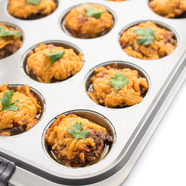 Cheeseburger Meatloaf Muffins