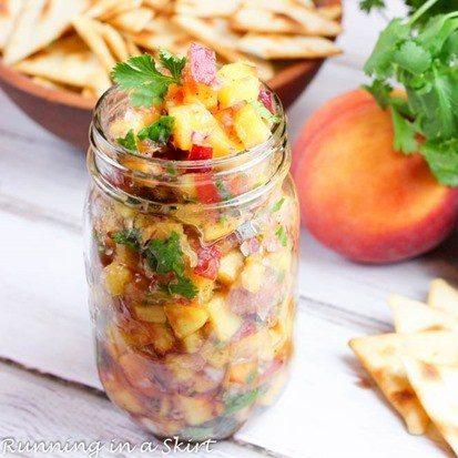 French Peach Salsa