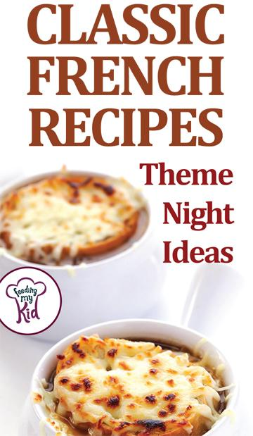 Check out these French recipes with a hearty & healthy twist. Try these out at your next theme night. Get inspired by classic French cuisine!