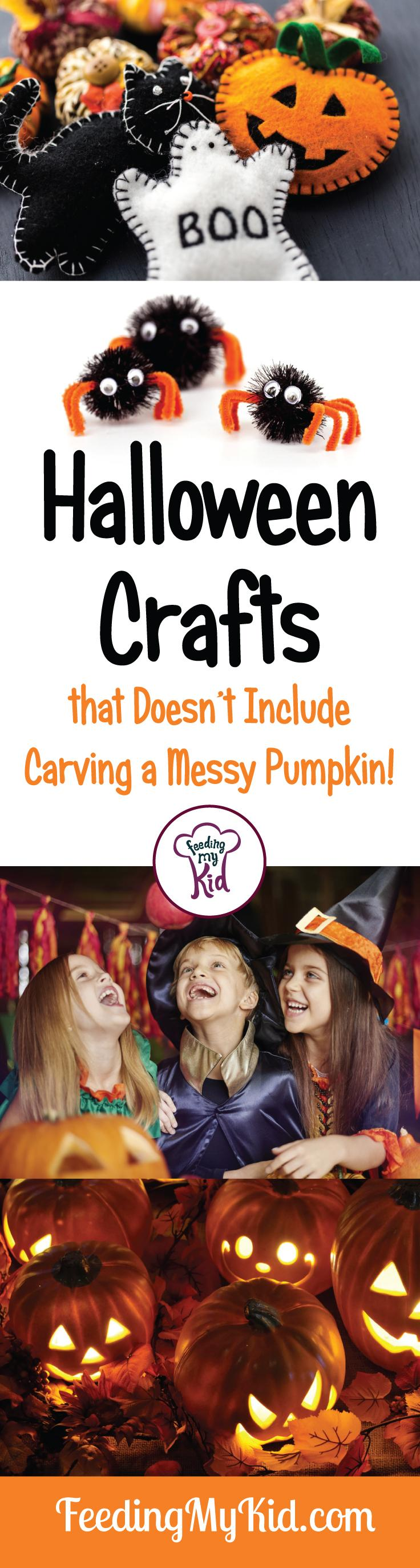 Tired of carving pumpkins that don't seem to last the week? Try these Halloween crafts that will last you all year! Fun Halloween home decor!