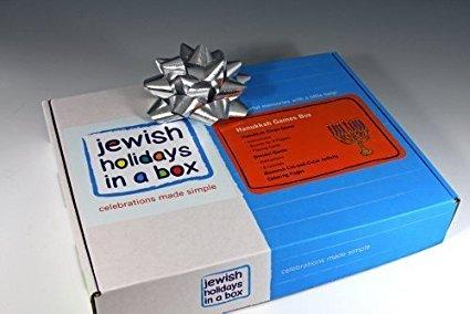 Hanukkah Games Box