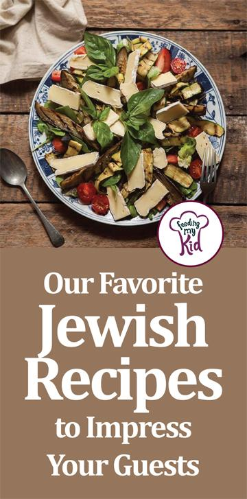 Make these Jewish recipes at your next dinner party! These are perfect for large gatherings celebrating all the Jewish holidays.