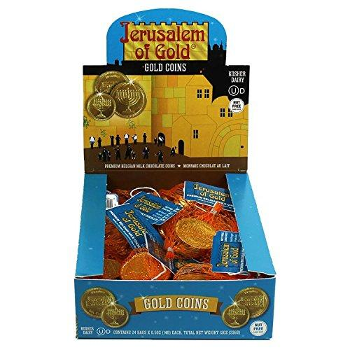 Kosher Nut-Free Milk Chocolate Coins Box
