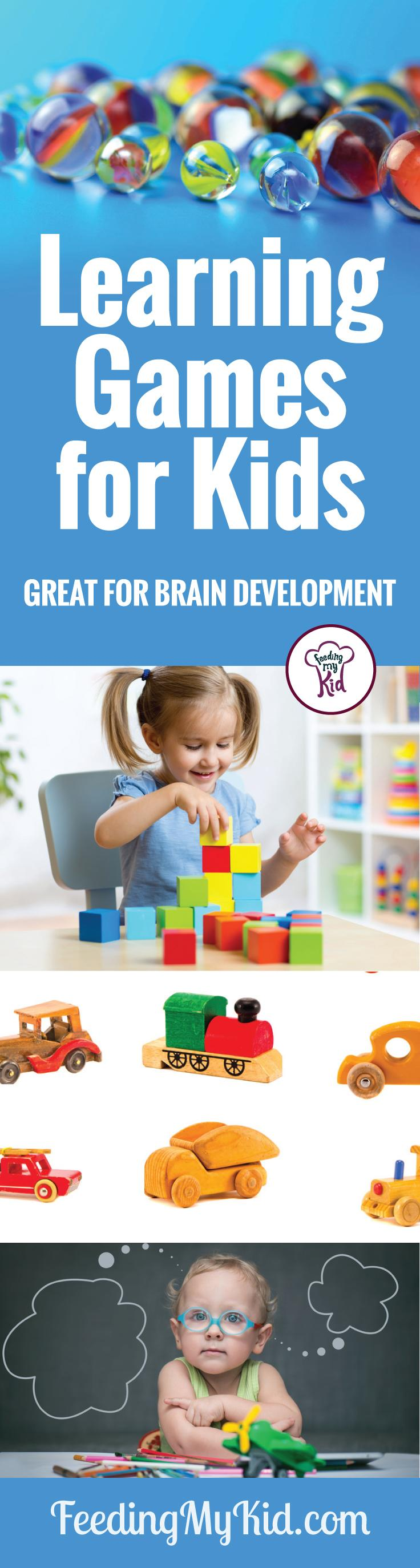 Learning Games for Kids Great For Brain Development and Motor Skills