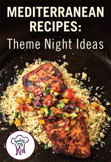 These Mediterranean recipes have so many fresh flavors! From fresh produce to delicious pasta and rice dishes. Get inspired for theme nights!