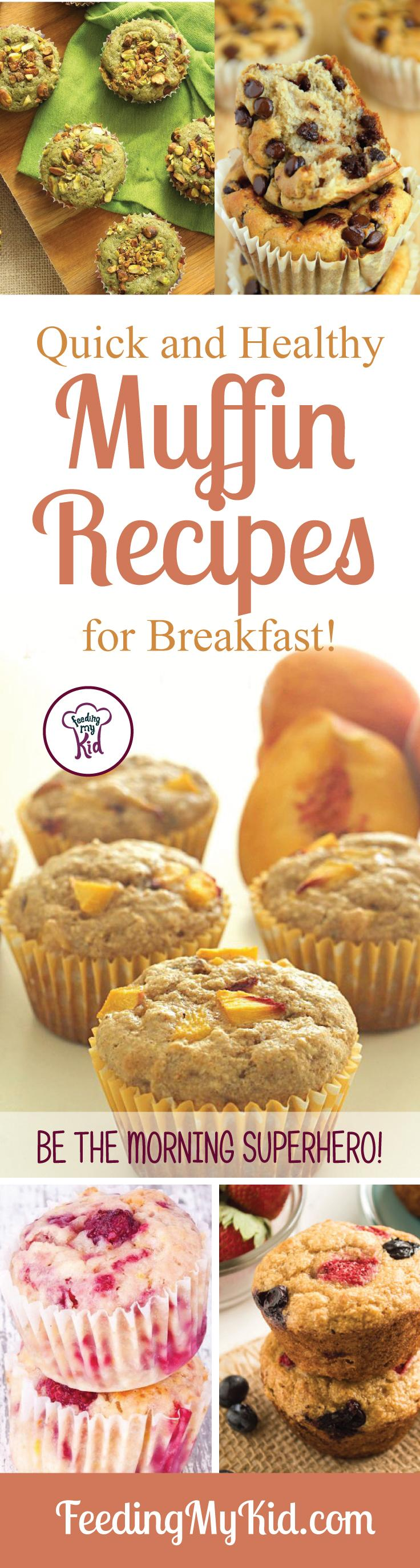 These muffin recipes are perfect for making a huge batch and saving them for the rest of the way. Just grab and go! Easy breakfasts for busy mornings.