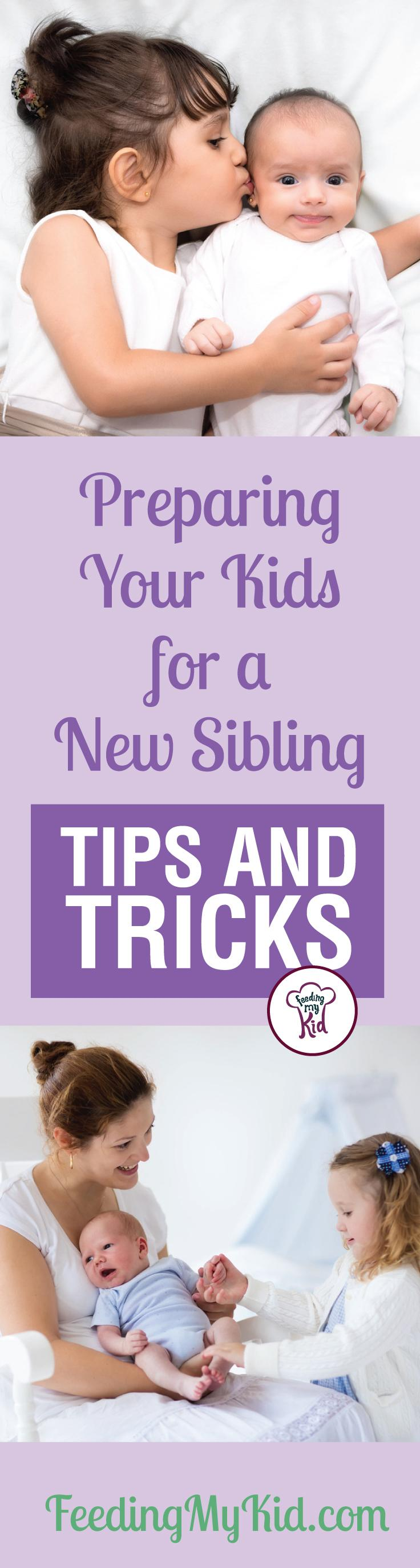 Learn tips to prepare your child for a new sibling. These tips will help parents develop and foster a sibling bond for their little ones.