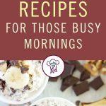 Overnight oatmeal recipes