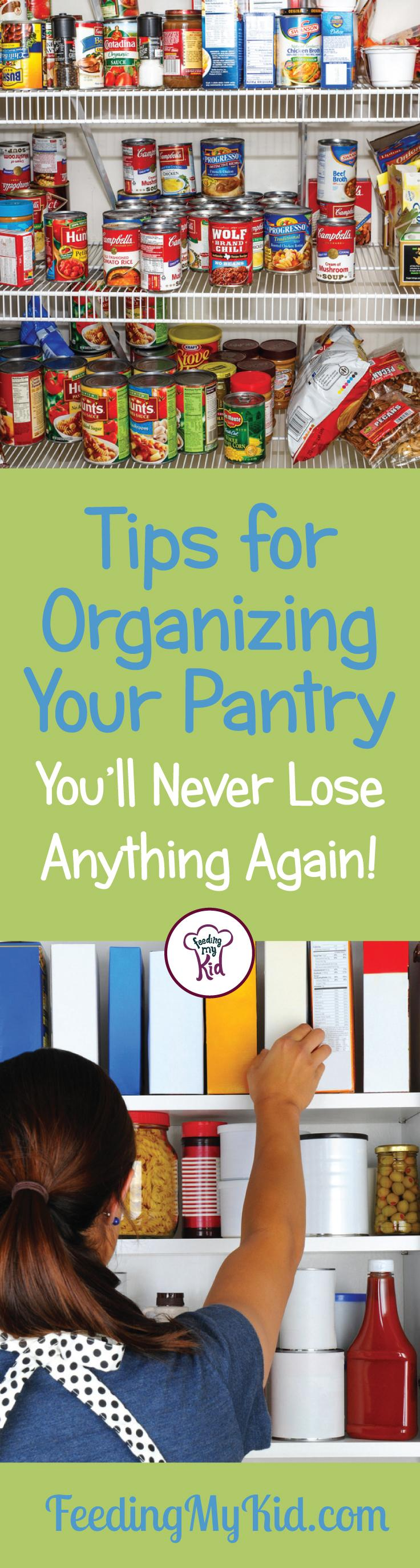 Tired of having to keep on reorganizing your pantry? With these helpful tips, you'll be able to organize pantry items more efficiently and keep it that way.