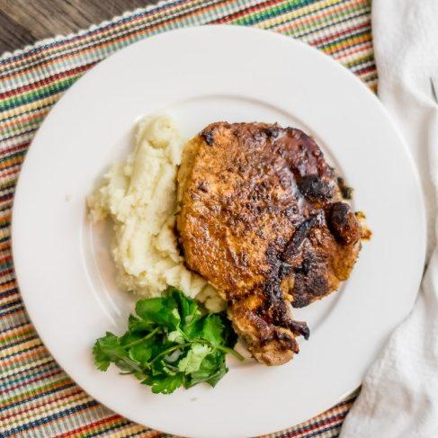 Paleo Cuban Pork Chops