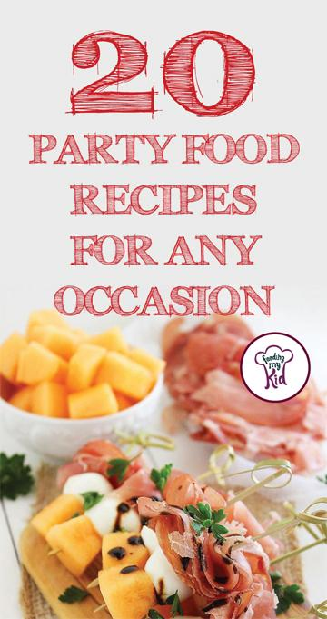 Party food is the center of all get-togethers. Who doesn't love appetizers and finger food?These party creations perfect for a variety of occasions!
