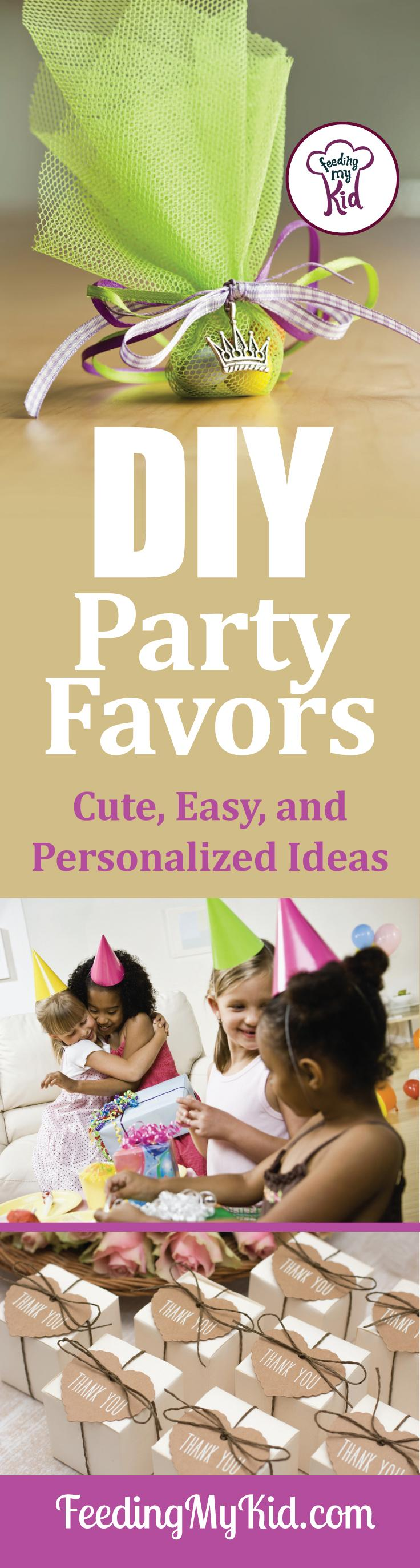 DYI Party Supplies