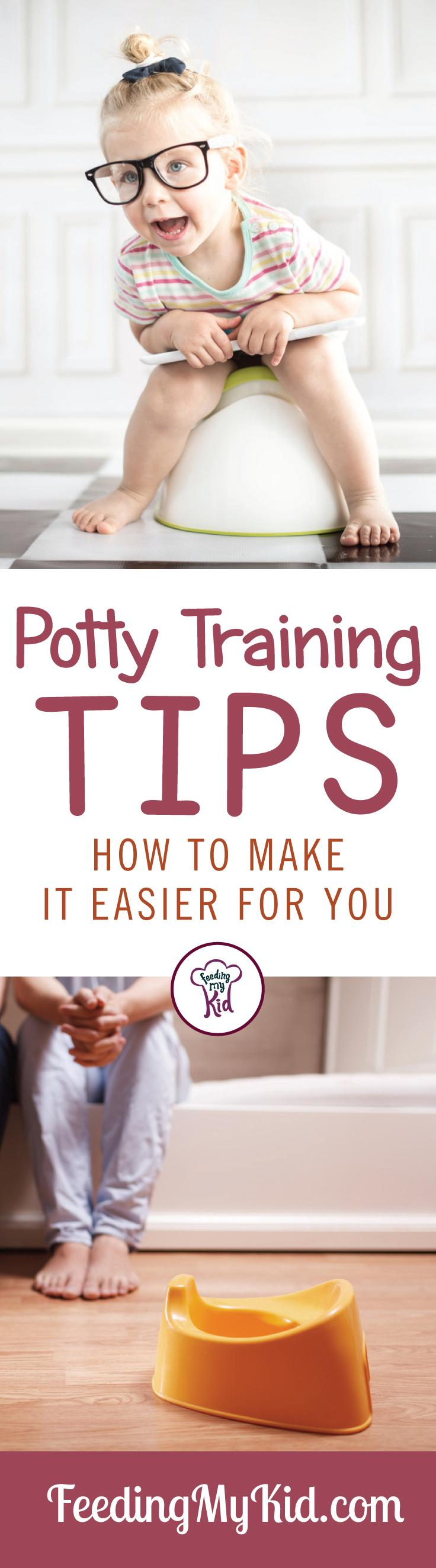 Great potty training tips to help get your kid on the toilet faster. And some successes too. It worked for one mom, it can work for you too.